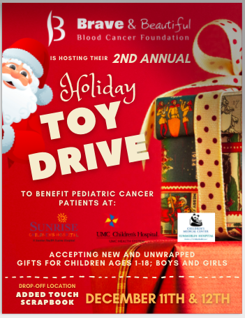 Holiday Toy Drive - Brave & Beautiful Blood Cancer Foundation